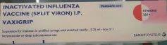 Vaxigrip Ju. 0.25 ml