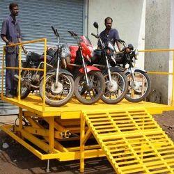 Vehicle Unloading Ramp