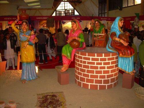 Frp Punjabi Culture Products Punjabi Theme Manufacturer