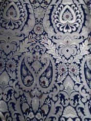 Handmade, Handwoven Brocade Silk Fabrics