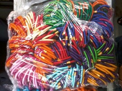 Group of Thread Bangles