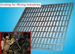 Grating for Mining Industries