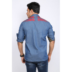 Denim Printed Shirt