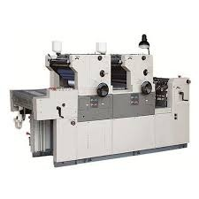 Two Color Non Woven Paper Printing Machine