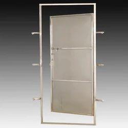 stainless steel special type toilet door