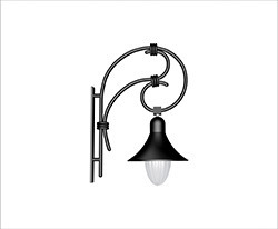 French Orna Lighting Pole