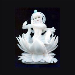 God Marble Krishan Statue