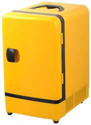 xelectron yellow 7 5 litre mini fridge car office refrigerat