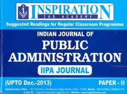 Public Administration IIPA Journal Paper-II