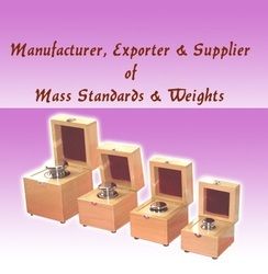 Mass & Standard Weights