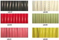 Stitched Lambskin Leather