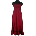 Red Evening Dress for Ladies