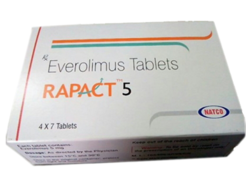 Everolimus 5 mg Rapact Tablets