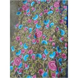 Net Multi Colors Work Fabric