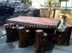 Garden Tea Table Decoration