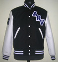 Black and White Varsity Jackets