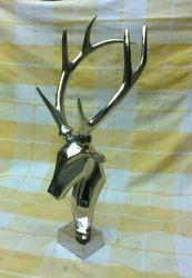 Aluminium Deer Head