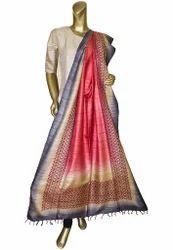 Handloom Silk Tussar Dupatta