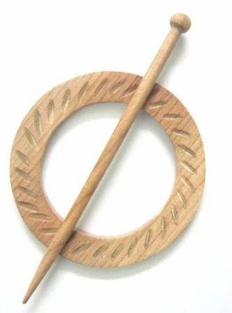 Design Circle Shawl Pins
