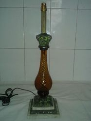 brass gothic lamp