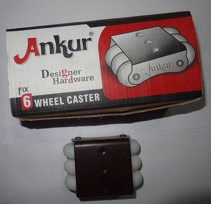 Six Wheels Casters