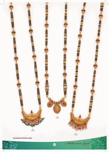 Brilliant Finish Mobile Detailing  Gold Long Chain Mangalsutra Manufacturer from Mumbai