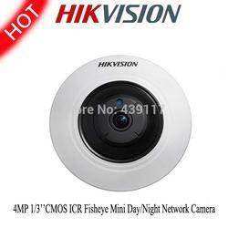 Hikvision IP Fish Eye 4mp Camera DS-2CD2942F-I