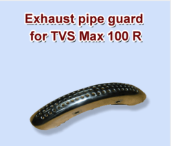 Exhaust Pipe Guard for TVS Max 100 R