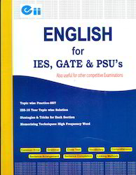 English for IES GATE - Anthropology Books