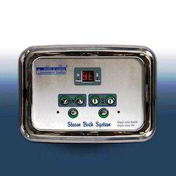 Manual Steam Bath Control Panel Model