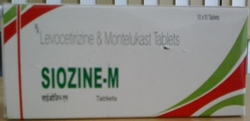Levocetirizine Hydrochloride 5mg  Montelukast Sodium 10mg