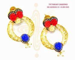 Victorian Flower Earrings
