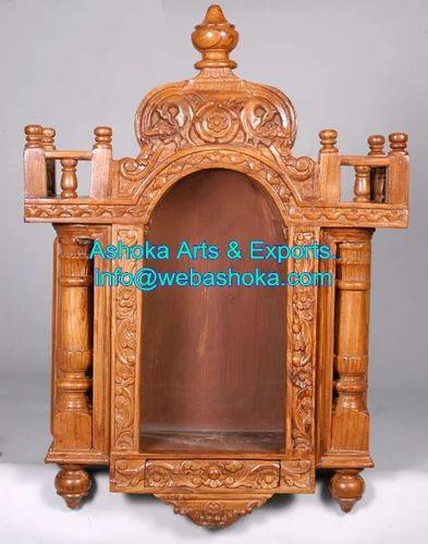 Wooden Mandir   Wooden Temple Design/ Wooden Temple For Home ... Wooden  Mandir Wooden Temple Design Wooden Temple For Home .
