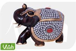 Vaah Wooden Elephant