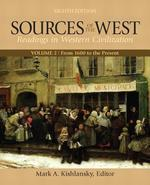 Sources Of The West Volume 2 From 1600 To The Present