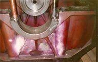 6 MW Cracked Engine Block Service