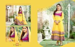 Anarkali Salwar Kameez Party Wear Suit