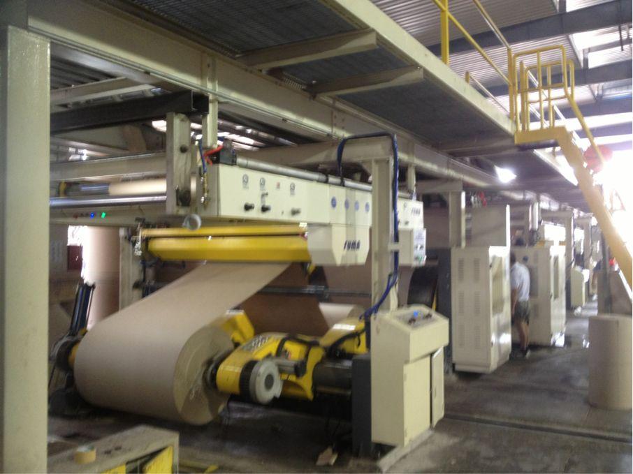 Corrugation Plants & Machines - 5 Ply Fully Automatic Corrugated ...