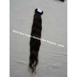 Indian Natural Remy Machine Weft Human Hair