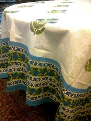 Block Print Table Cover
