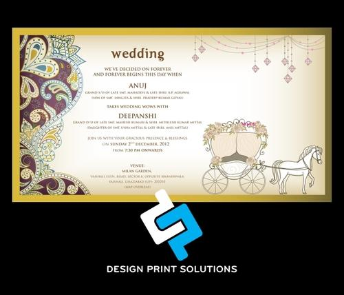 Wedding Cards Design in Delhi Wedding Cards Design Print