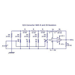 Digital To Analog Converter Weighted Resistor