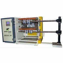 High Speed Slitter Rewinder Machine