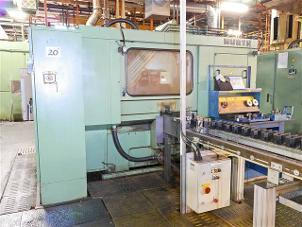 Used Hurth Type Zr220 CNC Gear Rolling...