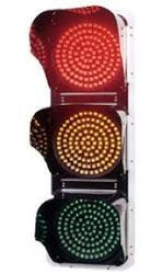 Red Amber and Green Traffic Signal