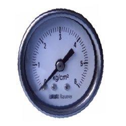 Baumer SS Case Pressure Gauge Bourdon Type