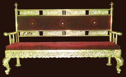 Brass Chairs