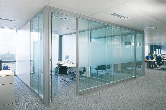 toughened glass work