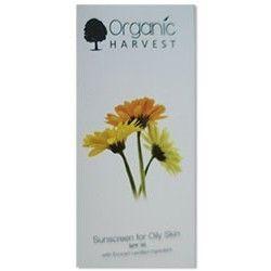 Organic Harvest Sunscreen for Oily Skin SPF 30