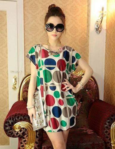 Fancy Digital Printed Kurtis